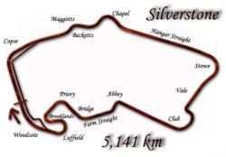 Silverstone depuis 2000.