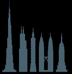 L'Empire State, parmi les plus hauts bâtiments au monde