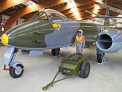 Un Meteor de l'armée de l'air danoise