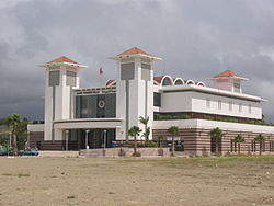 Gare terminus de Tanger (Maroc)