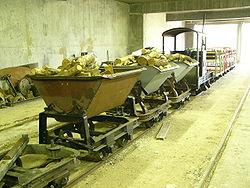 Tombereaux Decauville au Chemin de fer des Chanteraines