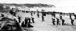 Débarquement américain près d'Alger, 1942