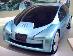 Voiture conceptuelle Toyota Fine N