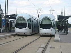 Tramway de Lyon (Porte des Alpes)