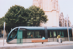Tramway de Bordeaux, arrêt