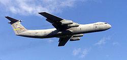 Le Lockheed C-141 Starlifter, avion de transport militaire américain