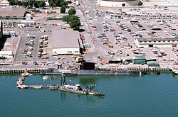 Le Nautilus à Mare Island Naval Shipyard en 1985