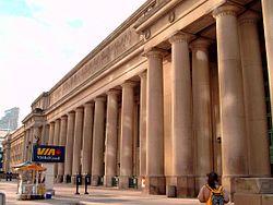 L'entrée principale à Union Station.