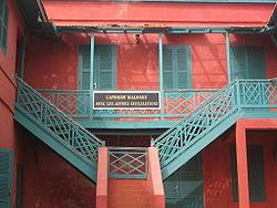 Dialogue à l'Université des Mutants (île de Gorée, Sénégal)