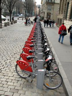 Les Vélo'v sont proposés à Lyon et Villeurbanne aux abonnés