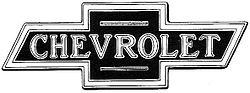 Le logo original de Chevrolet