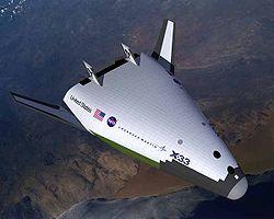 Le Lockheed Martin X-33