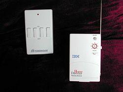 Télécommande et module convertisseur radio/porteuse