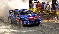 Xsara WRC au rallye de Chypre 2006 (Xavi Pons)