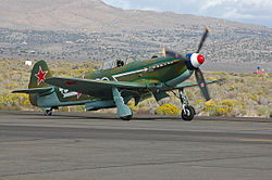 Un Yak-9UM actuel