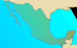 Localisation de Mexico au Mexique