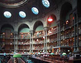 Salle ovale du site Richelieu