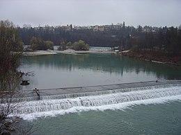 La rivière Save à Zagreb.