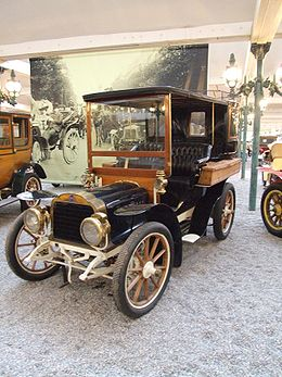 Mors Tonneau Ferme Type N, 4 cylindres - 1809 cm³ - 60 km/h, Cité de l'automobile - Collection Schlumpf - Mulhouse