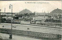 La gare de Noisy-le-Sec, avant la Première Guerre mondiale