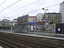 La gare de Noisy-le-Sec