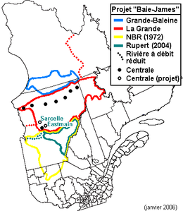 Projet de la Baie-James, 1972-2006