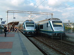 NSB BM72 en gare de Sandnes.