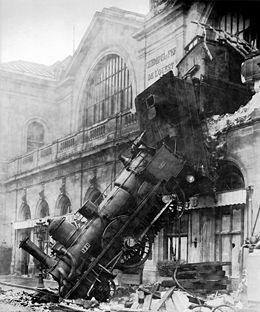 Le spectaculaire accident de 1895