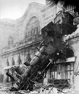 Le spectaculaire accident de 1895