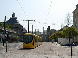 Le Tramway et son réseau de rail