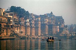 Le Gange à Vârânasî.