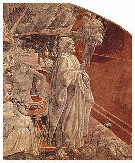 Le Déluge et l'arche voguant sur les flots (détail)Fresque de Paolo Uccello (vers 1646)Église Santa Maria Novella, Florence
