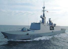 Frégate Surcouf de la Marine nationale française de classe La Fayette