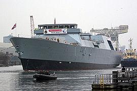 Lancement du HMS Daring le 1er février 2006
