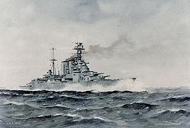 Le HMS Hood