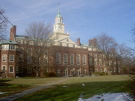bâtiment de l'IAS à Princeton