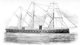 Gravure de l'U.S. Naval Historical Center