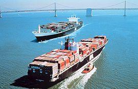 Deux Post-Panamax de l'APL à San Francisco
