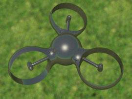 Micro-drone de type Trirotor d�velopp� � SUPAERO