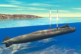 Tir de missiles tactiques et emport d'un mini sous-marin pour les commandos par un Ohio convertie en SSGN