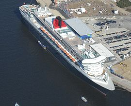 Paquebot Queen Mary 2 en 2006