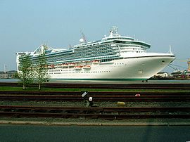 Le Star Princess à Bremerhaven