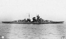 Le Tirpitz en 1941