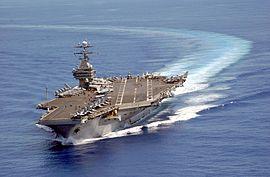 Dans l'océan Pacifique le 6 octobre 2003.