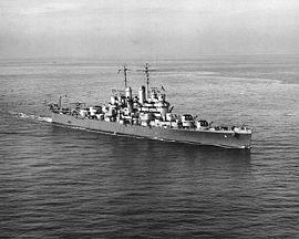 USS Cleveland en 1942