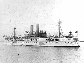 Le navire entre 1895 et 1898