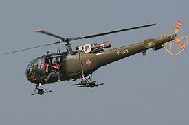 SA-316B Alouette IIIS