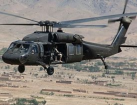Un UH-60 Black Hawk en Irak