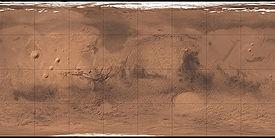 (Voir situation sur carte: Mars