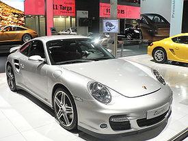 Porsche 911 Turbo (type 997) au Mondial de l'automobile de Paris 2006
